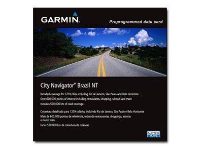 MapSource City Select Brazil NT - Karten - für Dakota 20; eTrex Legend Cx, Vista Cx; GPSMAP 60, 76; iQue 3000; Oregon 200; Stree