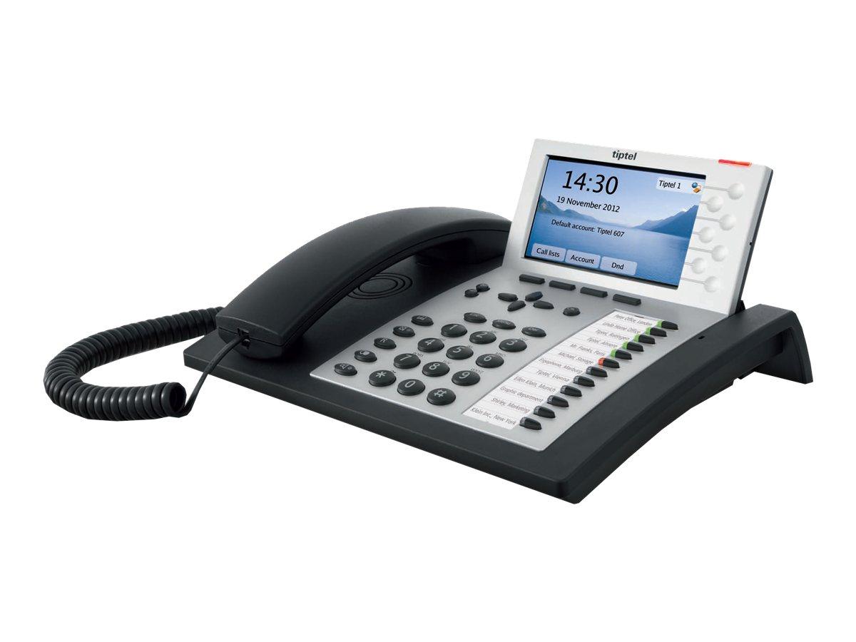 Tiptel 3120 - VoIP-Telefon - dreiweg Anruffunktion - SIP, RTCP, SRTP