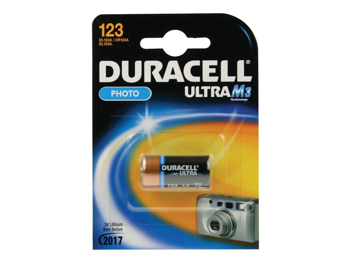Duracell Ultra 123 - Kamerabatterie - Li - 1550 mAh