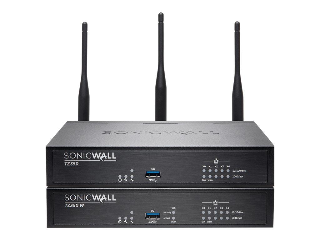 SonicWall TZ350 Wireless-AC - Advanced - Sicherheitsgerät - GigE - Wi-Fi - Dualband