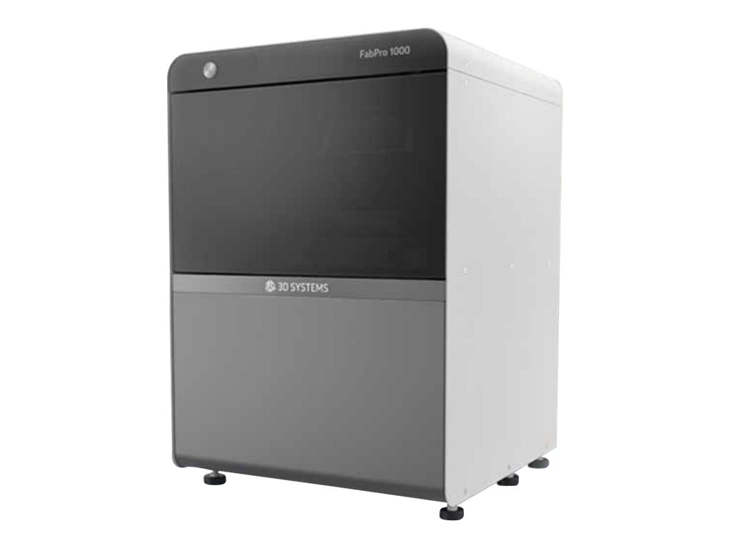 3D Systems FabPro 1000 - 3D-Drucker - DLP - max. Baugrösse 125 x 120 x 70 mm - Schicht: 30 µm - Gigabit LAN, direct print USB