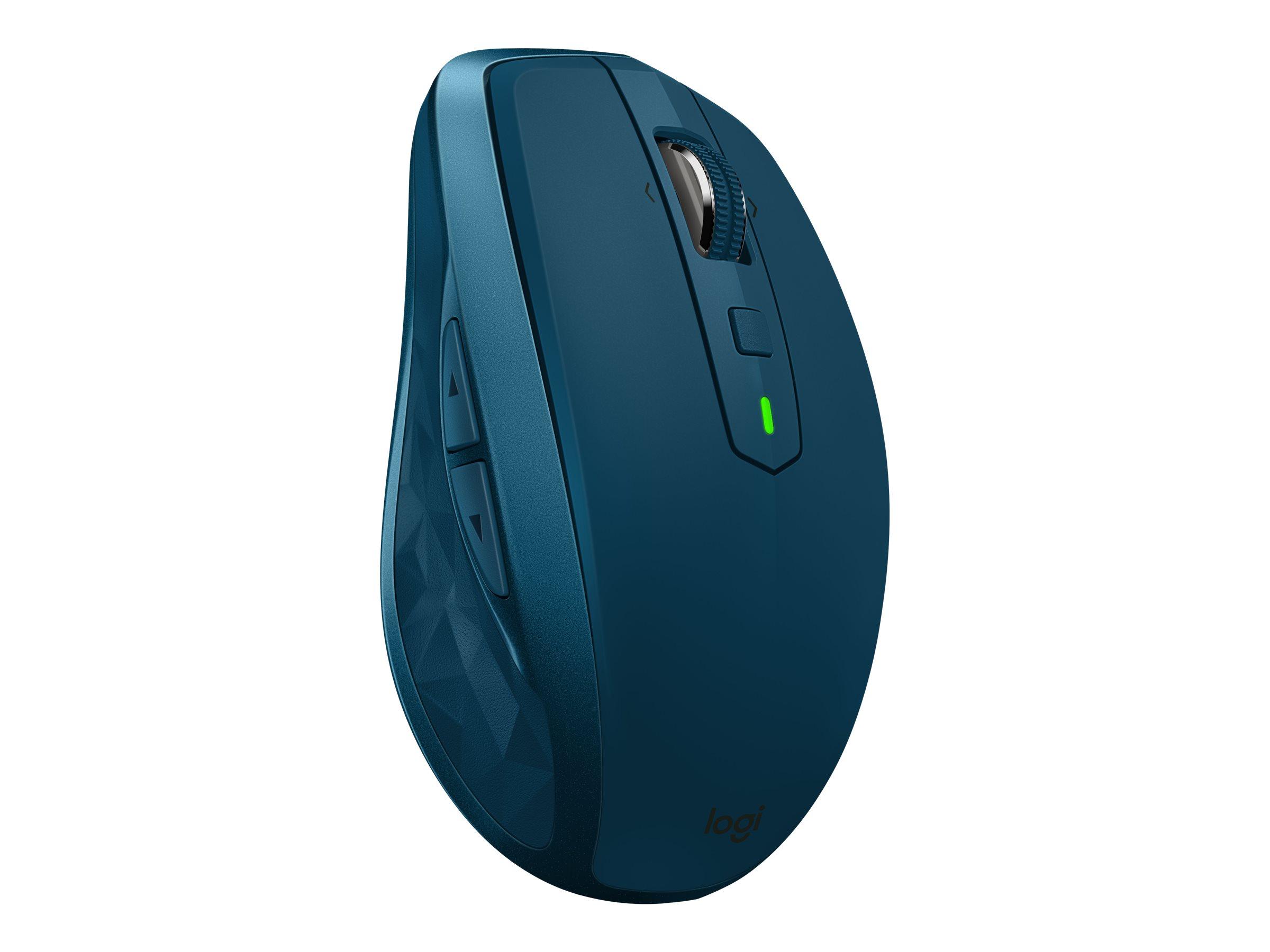 Logitech MX Anywhere 2S - Maus - Laser - 7 Tasten - kabellos - Bluetooth, 2.4 GHz