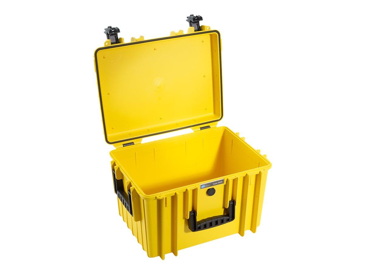B&W outdoor.cases type 5500 - Hartschalentasche - Polypropylen - Gelb
