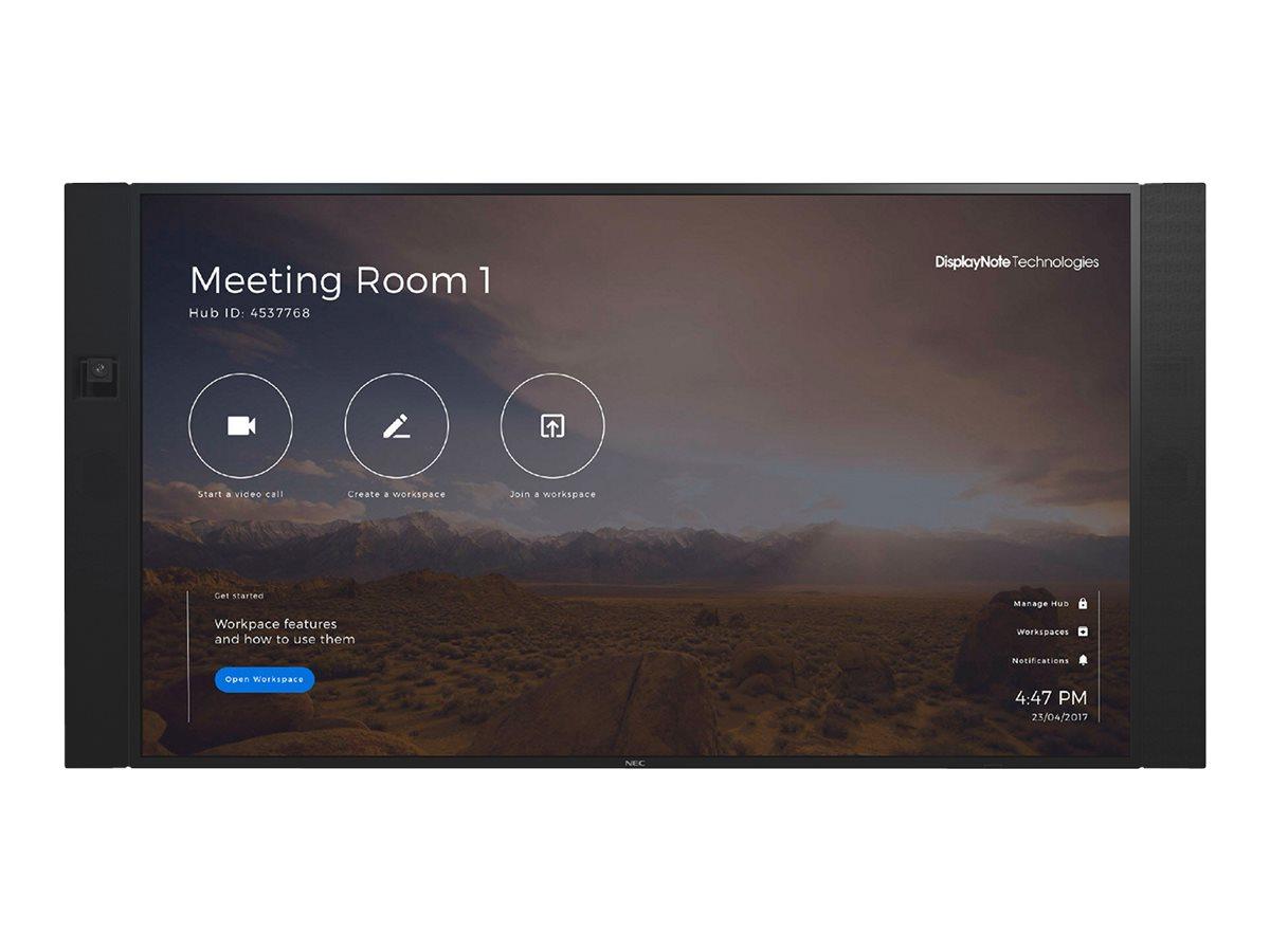 NEC InfinityBoard 2.0 75 - Kit für Videokonferenzen - 75 Zoll - Schwarz - mit NEC OPS Slot-in PC (Windows 10 Professional), Conf