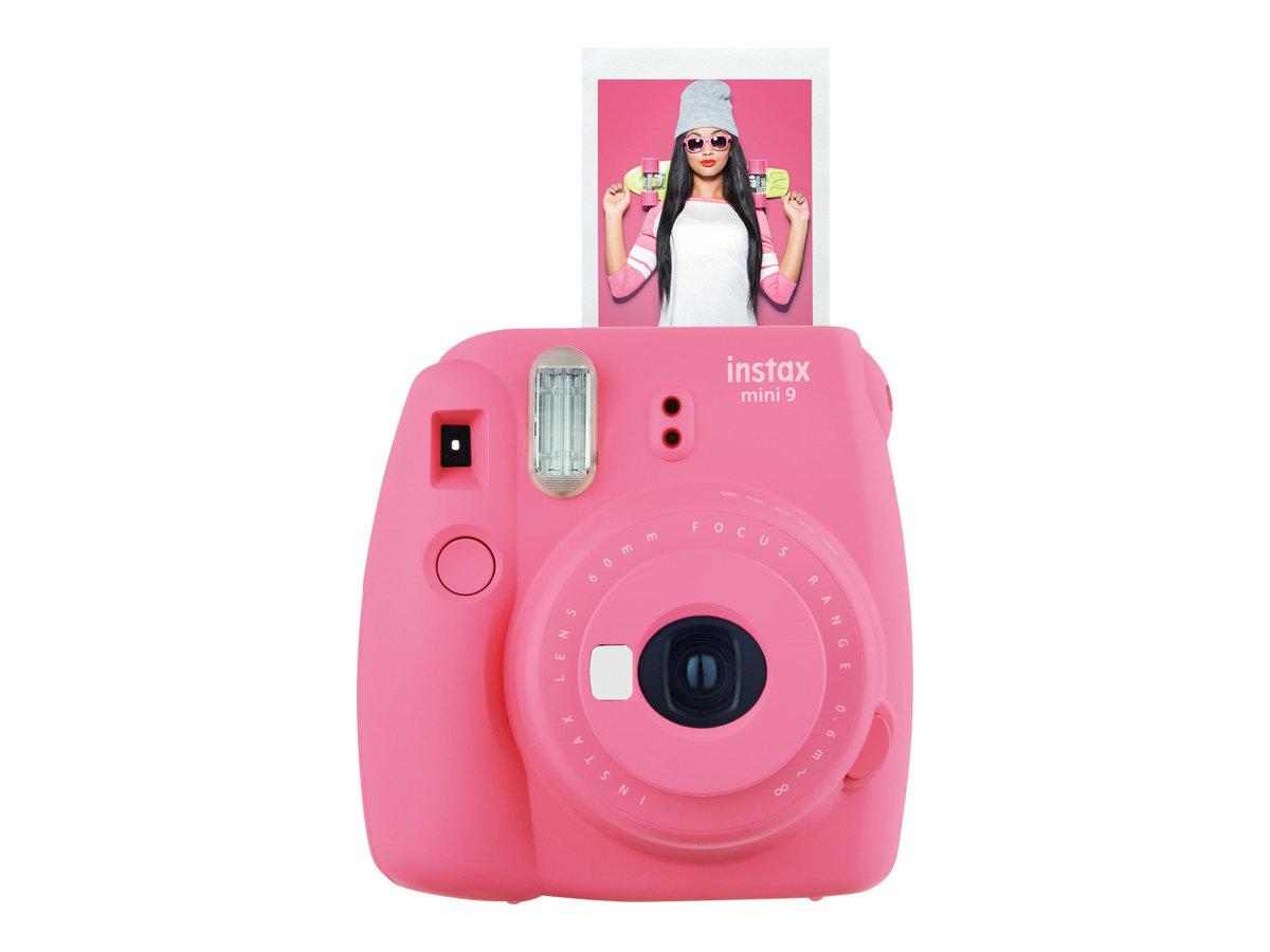 Fujifilm Instax Mini 9 - Instant Kamera - Objektiv: 60 mm Flamingo Pink