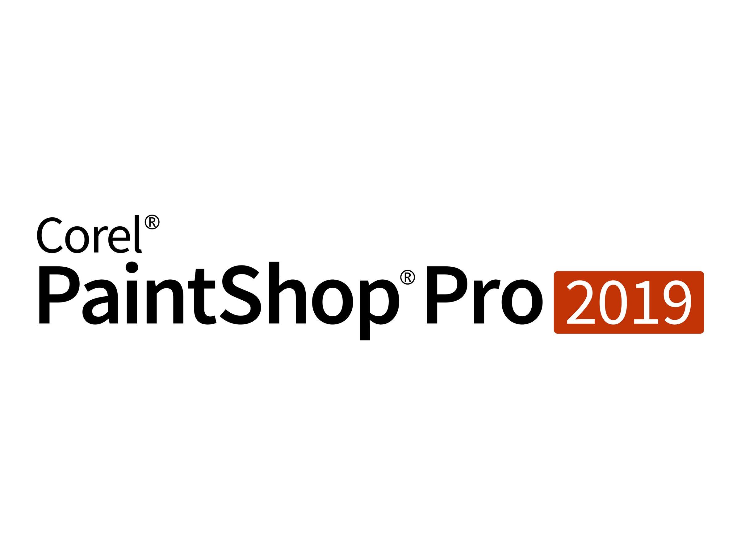 Corel PaintShop Pro 2019 - Upgrade-Lizenz - 1 Benutzer - Corporate / Unternehmens- - Win - Multi-Lingual