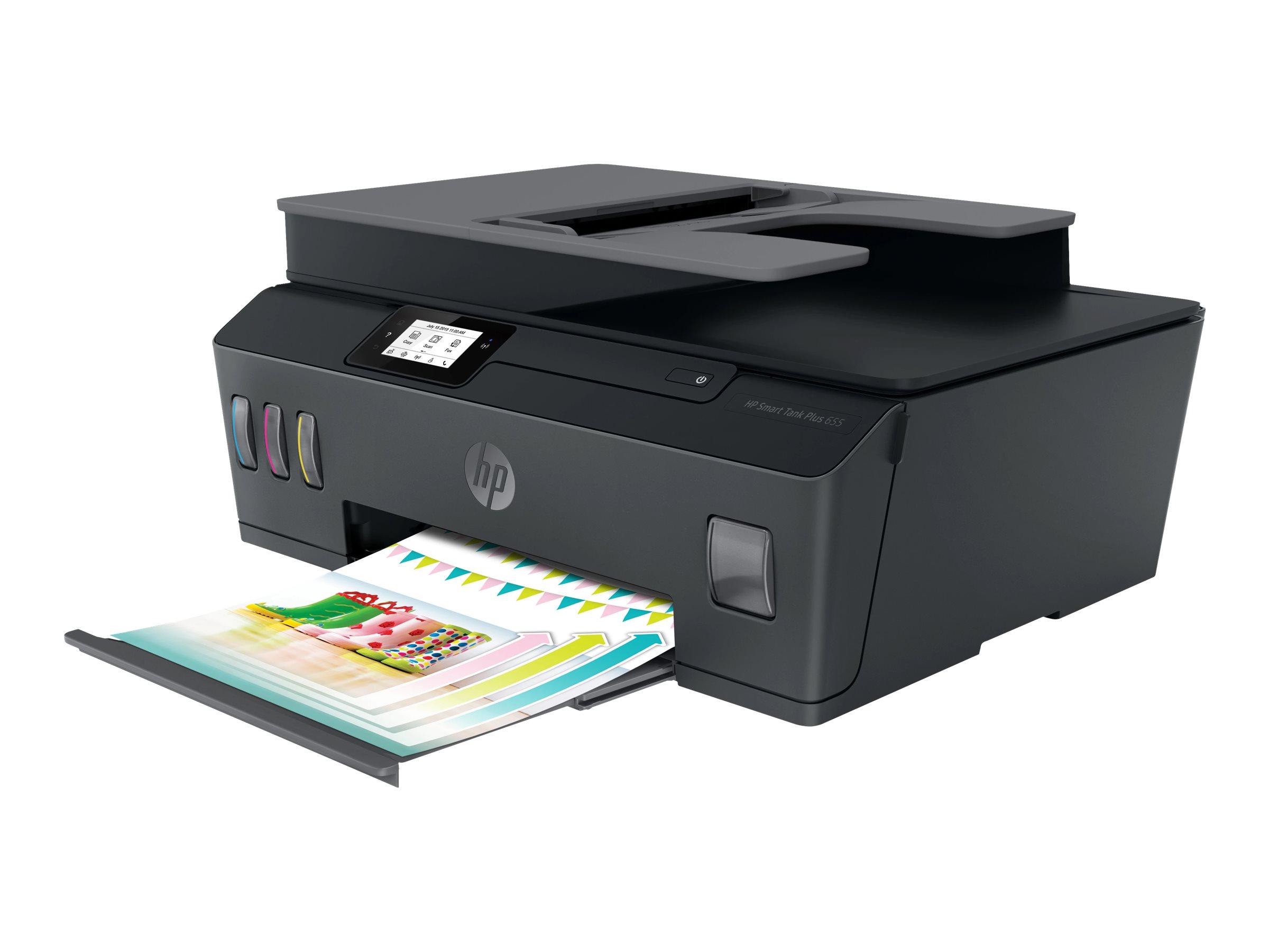 HP Smart Tank Plus 655 Wireless All-in-One - Multifunktionsdrucker - Farbe - Tintenstrahl - Legal (216 x 356 mm) (Original) - A4