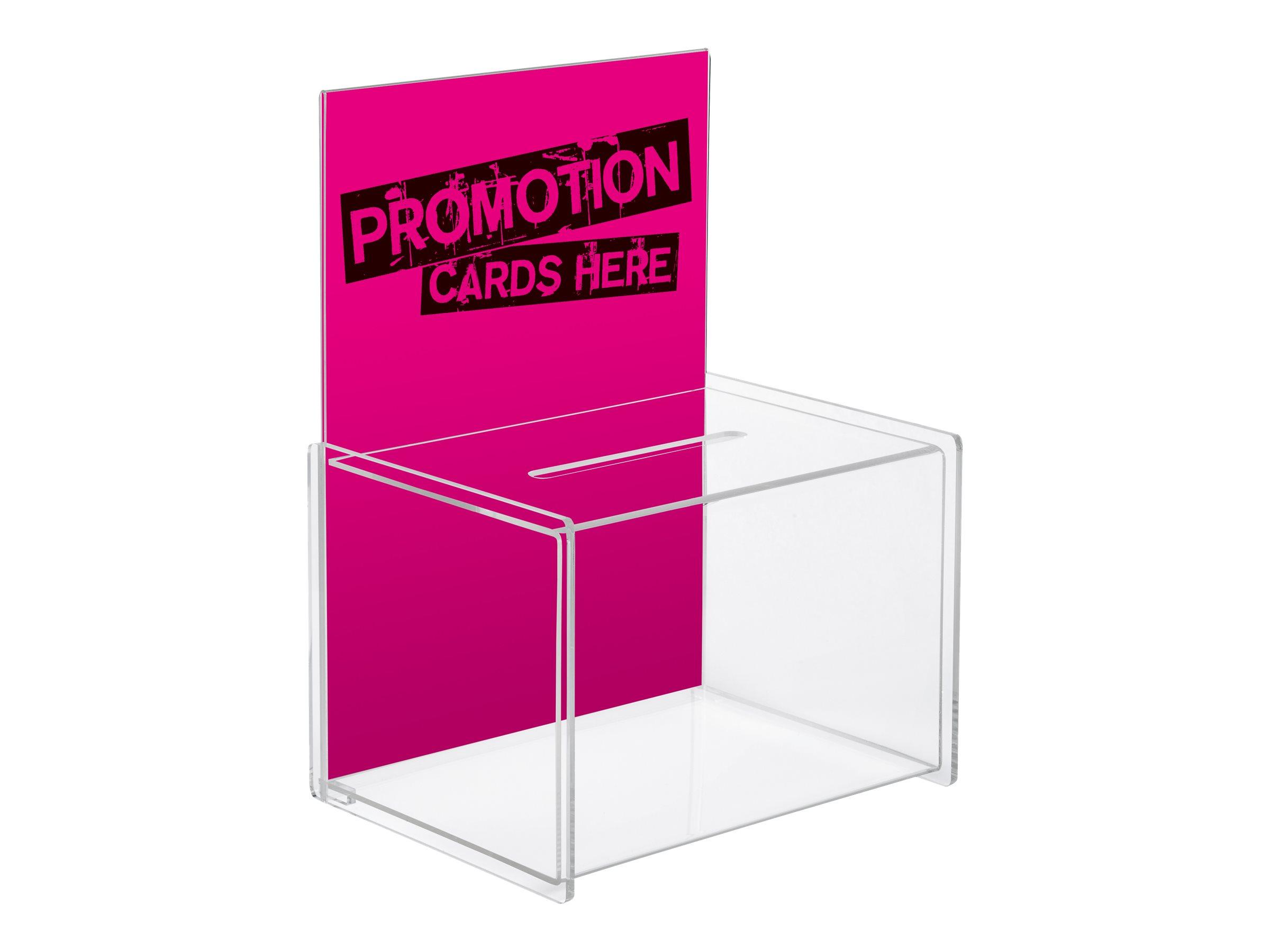 Sigel Promotional Box - Sammelbox - Acryl - klar
