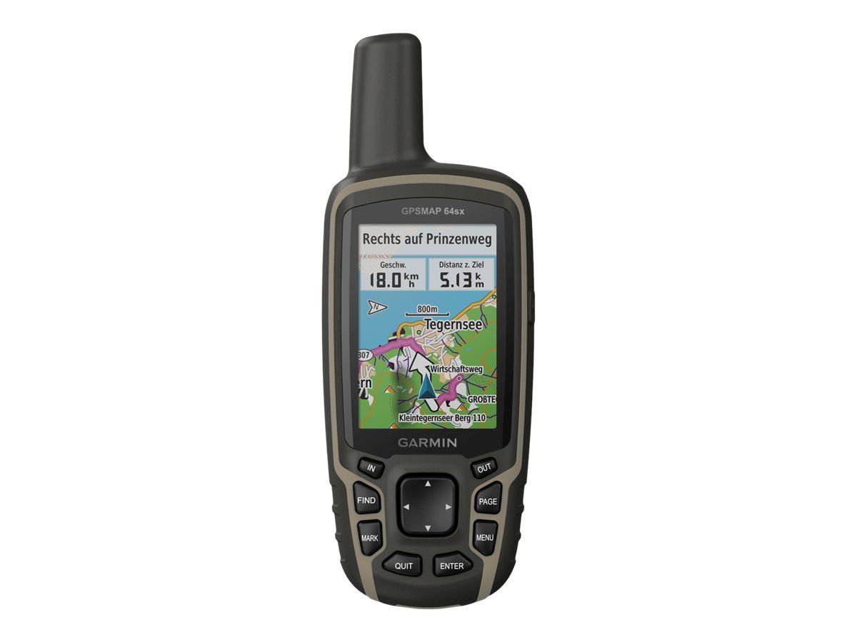 Garmin GPSMAP 64sx - GPS/GLONASS/Galileo Navigator - Wandern 2.6
