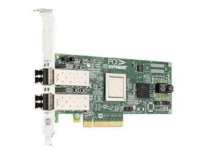 Dell Emulex LPE-12002 - Hostbus-Adapter - PCIe 2.0 x8 Low-Profile - 8Gb Fibre Channel x 2 - für PowerEdge R320, R420, R430, R530