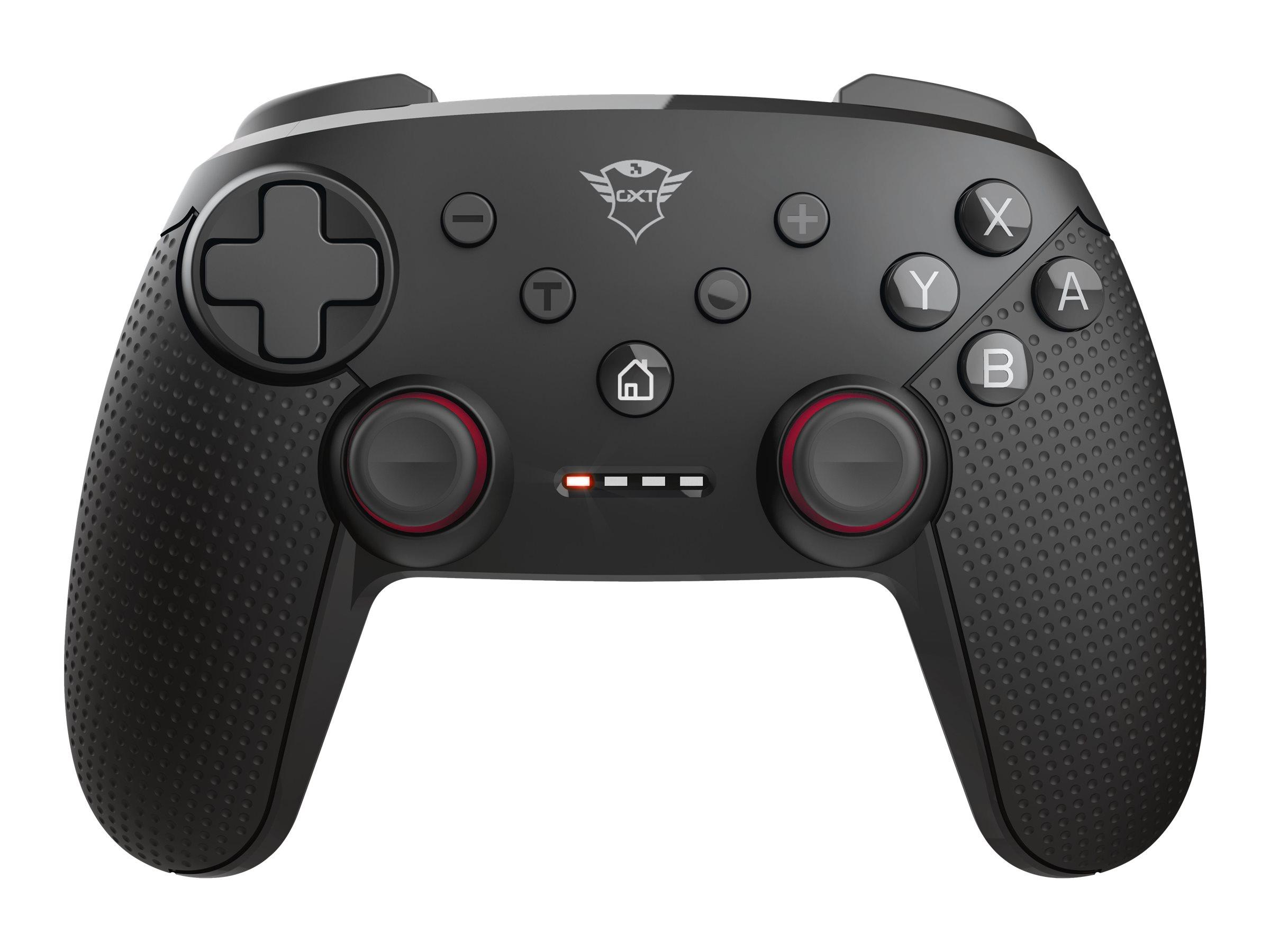 Trust GXT 1230 Muta - Game Pad - 15 Tasten - kabellos - Bluetooth - für PC, Nintendo Switch, Nintendo Switch Lite