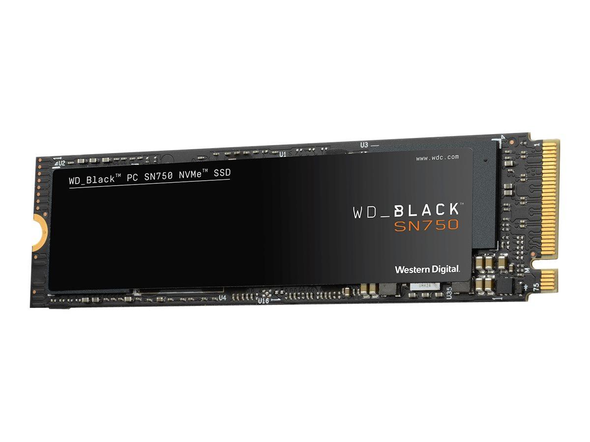 WD Black SN750 NVMe SSD WDS100T3X0C - Solid-State-Disk - 1 TB - intern - M.2 2280 - PCI Express 3.0 x4 (NVMe)