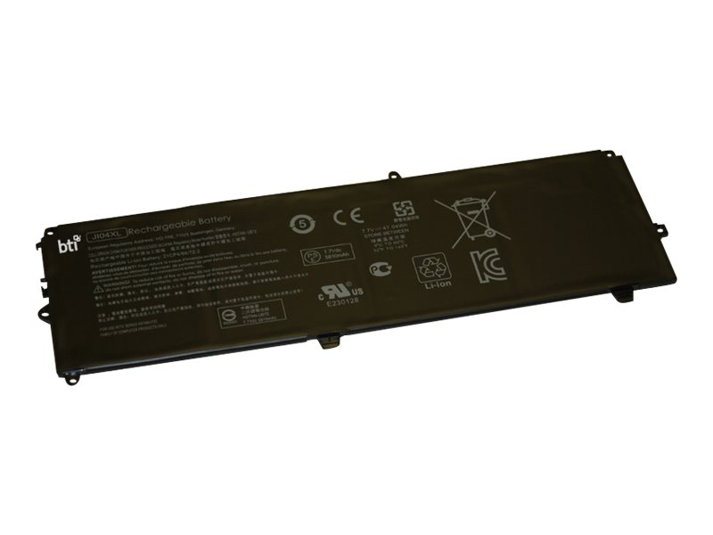 BTI - Laptop-Batterie - 1 x Lithium-Polymer 4 Zellen 6110 mAh - für HP Elite x2 1012 G2