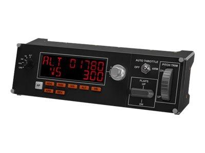 Logitech Multi Panel - Flugsimulator-Instrumentenbrett - kabelgebunden - für PC