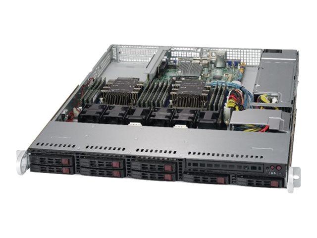 Supermicro SuperServer 1029P-WT - Server - Rack-Montage - 1U - zweiweg - RAM 0 GB