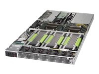 Supermicro SuperServer 1029GQ-TRT - Server - Rack-Montage - 1U - zweiweg - RAM 0 GB