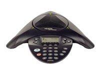 Avaya 2033 IP Conference Phone - VoIP-Konferenztelefon - holzkohlefarben