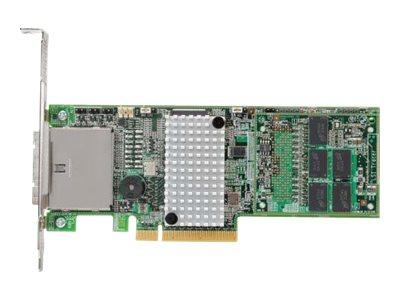 Lenovo ServeRAID M5120 - Speicher-Controller - 8 Sender/Kanal - SATA 6Gb/s / SAS 6Gb/s Low-Profile - 600 MBps - RAID 0, 1, 10