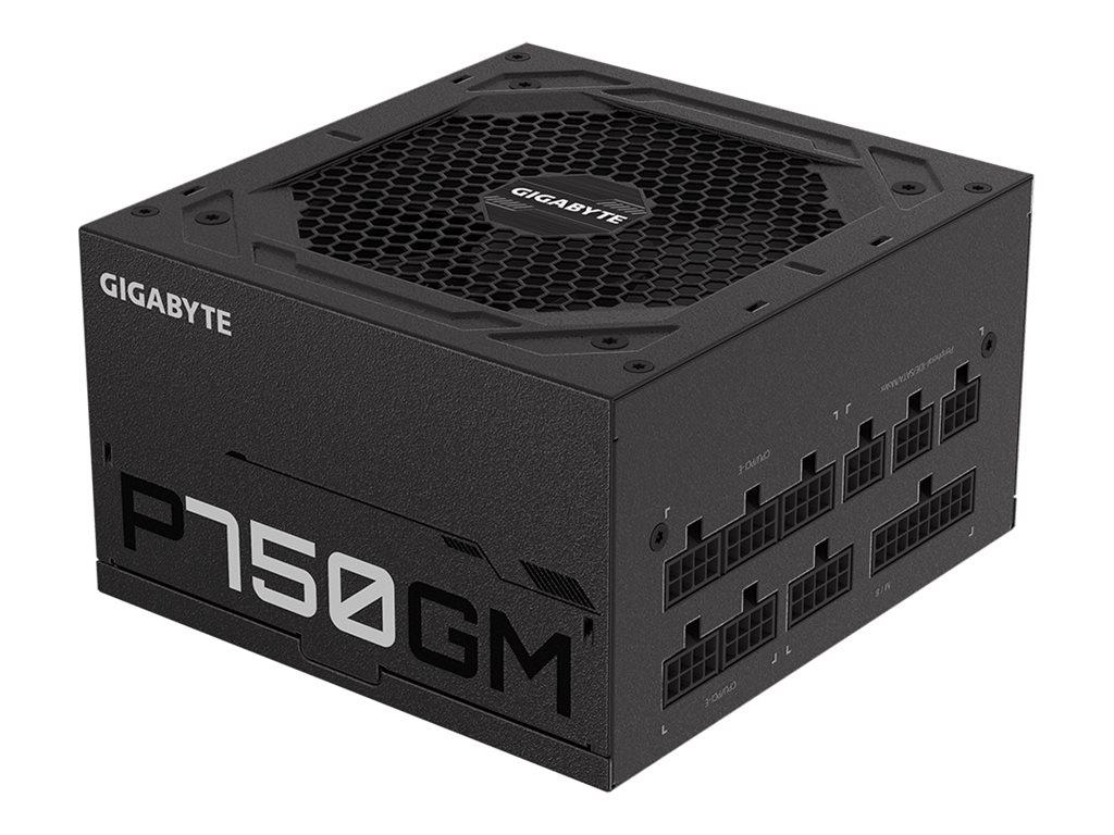 Gigabyte P750GM - Netzteil (intern) - ATX12V 2.31 - 80 PLUS Gold - Wechselstrom 100-240 V - 750 Watt