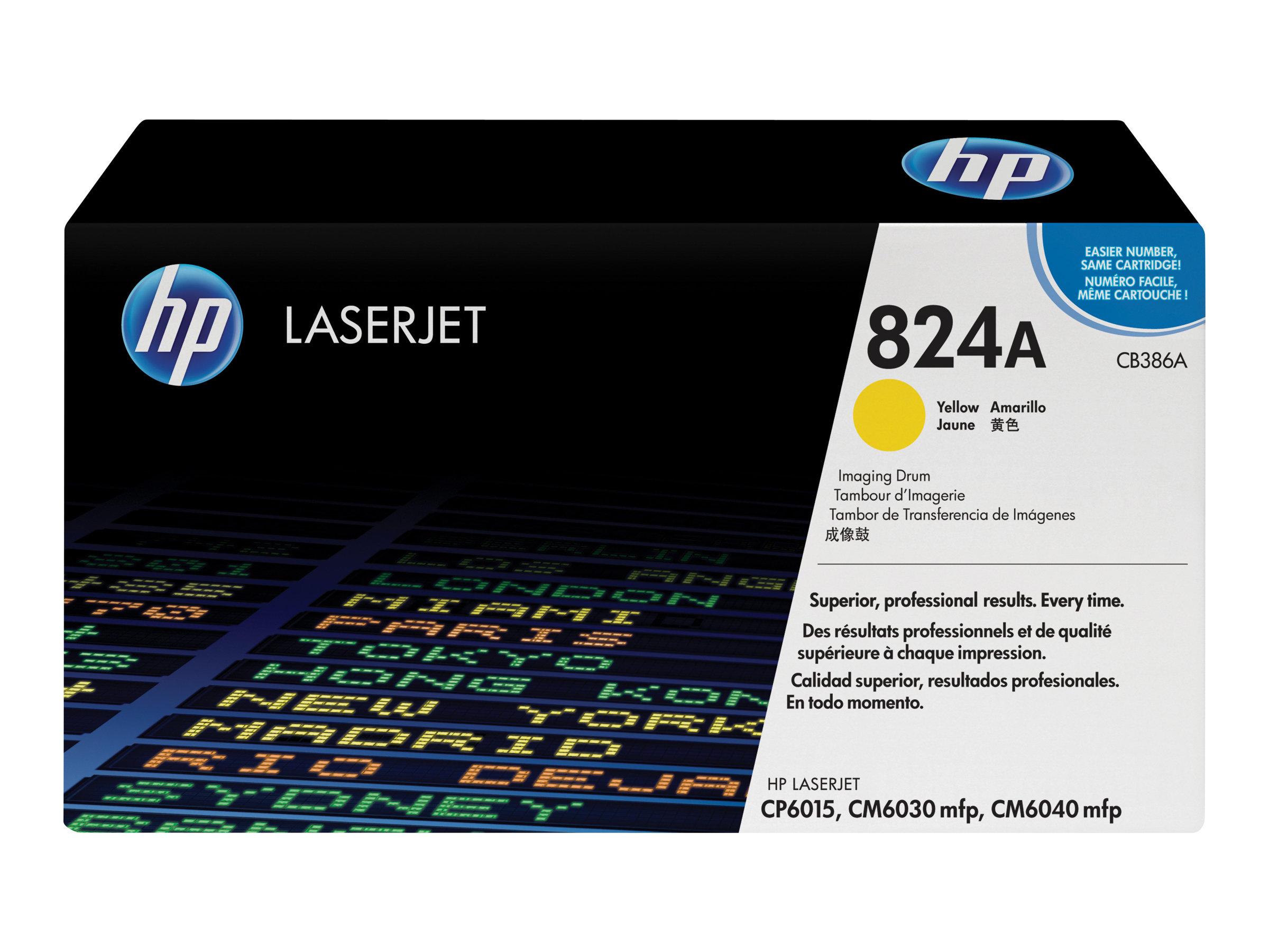 HP 824A - Gelb - Trommel-Kit - für Color LaserJet CM6030, CM6040, CP6015