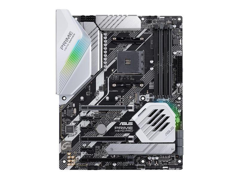 ASUS PRIME X570-PRO - Motherboard - ATX - Socket AM4 - AMD X570 - USB-C Gen2, USB 3.2 Gen 1, USB 3.2 Gen 2