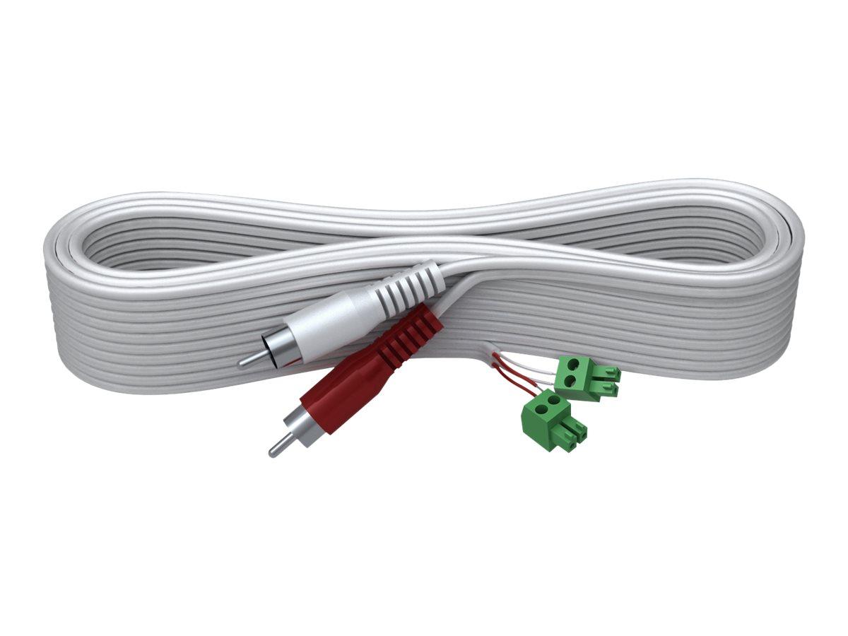 VISION Techconnect 2 - Audiokabel - 2 PIN Phoenix (M) bis RCA x 2 (M) - 10 m