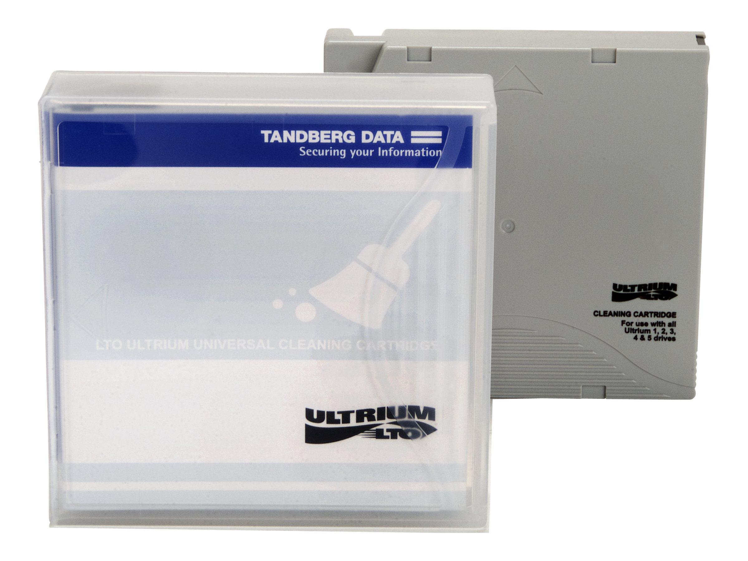 Tandberg - LTO Ultrium - Reinigungskassette - für P/N: 2491-LTO, 2492-LTO, 3533-LTO, 3534-LTO, 3535-LTO, 3536-LTO, 8180-LTO, 871