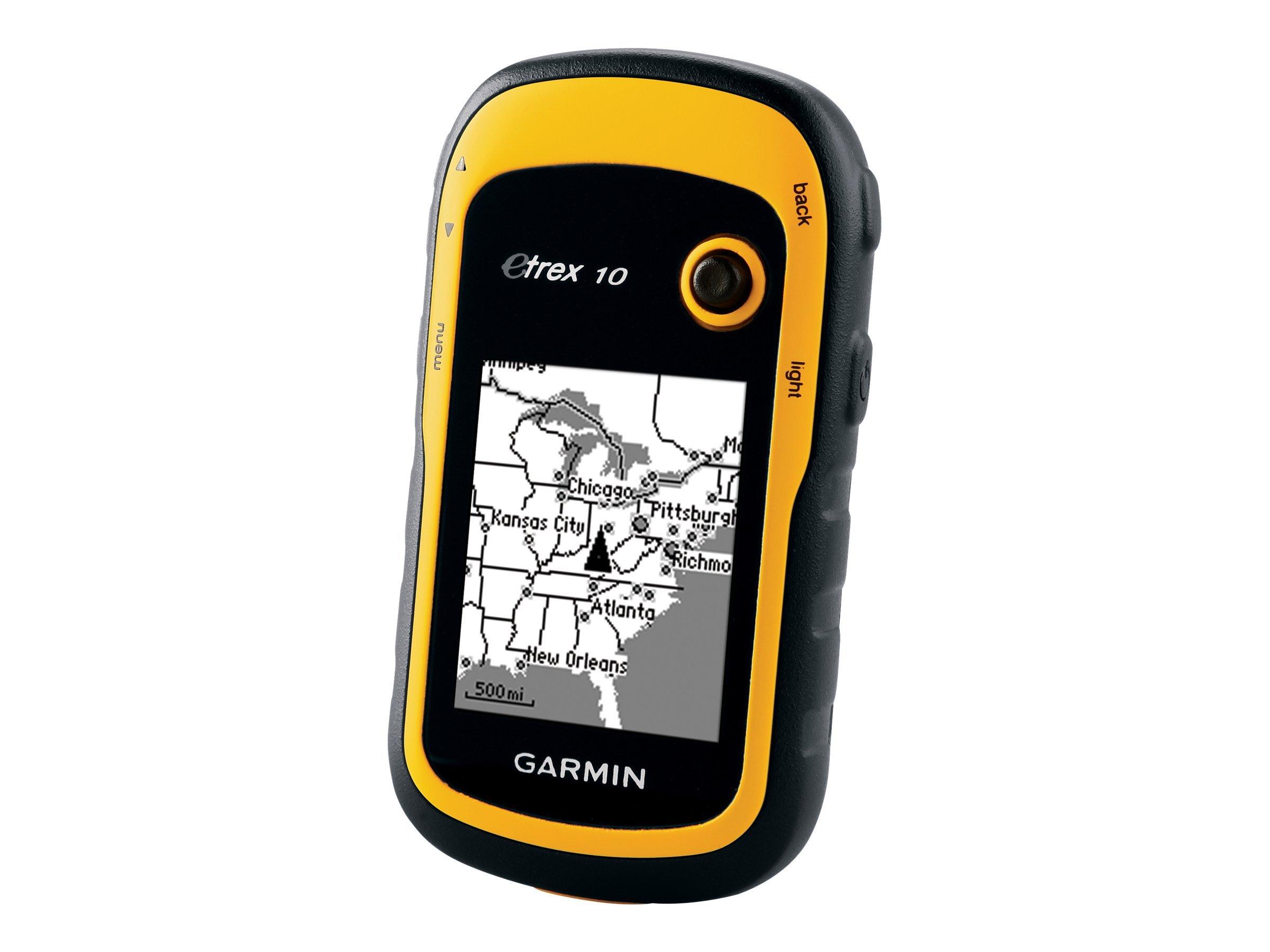 Garmin eTrex 10 - GPS-Navigationsgerät - Wandern 2.2 Zoll