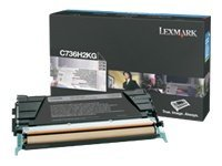 Lexmark - Hohe Ergiebigkeit - Schwarz - Original - Tonerpatrone LCCP - für Lexmark C736dn, C736dtn, C736N, X736de, X738de, X738d