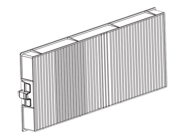 Panasonic ET-RFM100 - Projektorluftfilter - für PT-MW530, MW630, MZ10, MZ13, MZ16, MZ570, MZ670, MZ680, MZ770, MZ780, MZ880