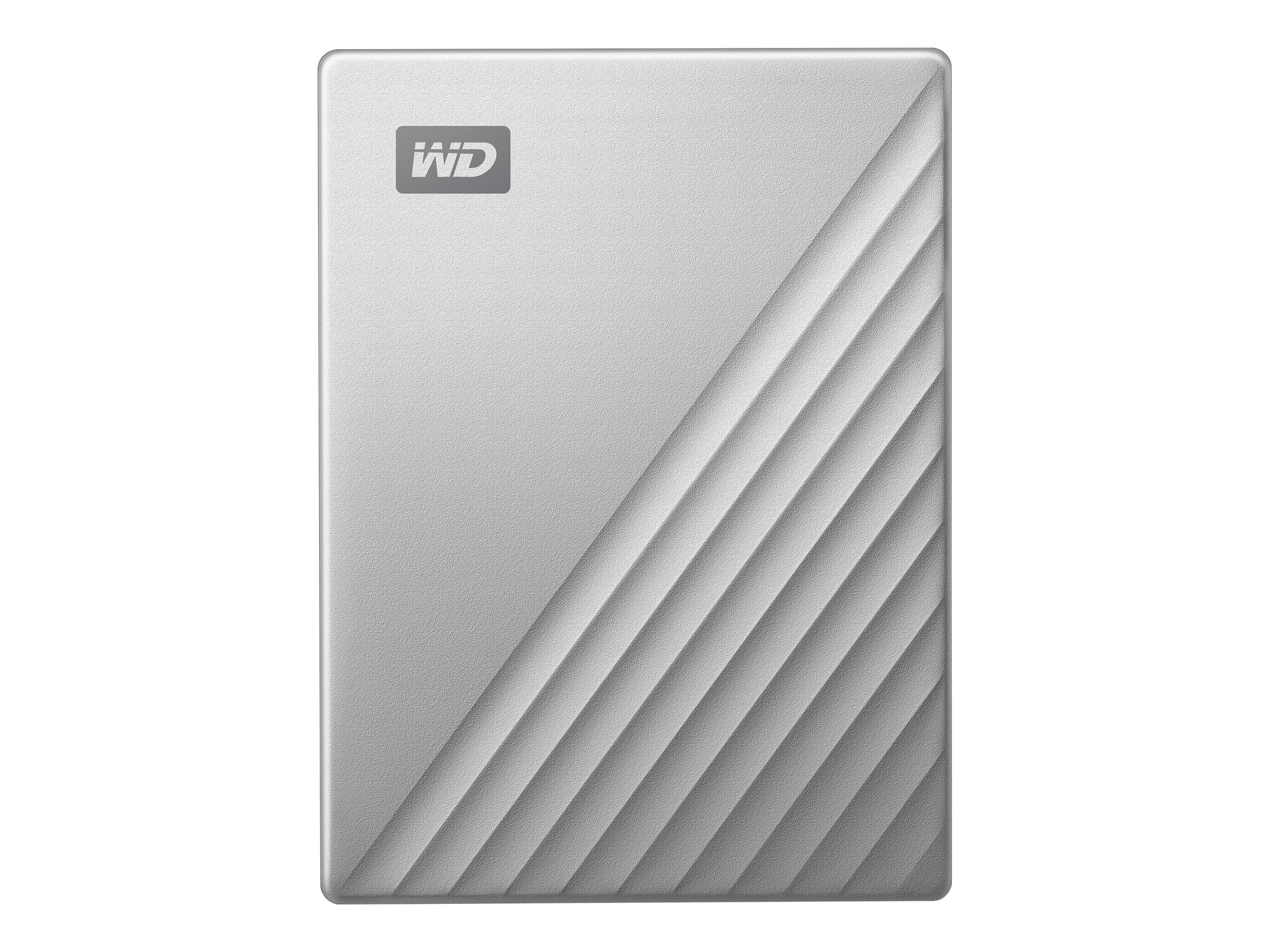 WD My Passport Ultra WDBC3C0020BSL - Festplatte - verschlüsselt - 2 TB - extern (tragbar) - USB 3.0 (USB-C Steckverbinder)