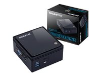 Gigabyte BRIX GB-BACE-3160 (rev. 1.0) - Barebone - Ultra Compact PC Kit - 1 x Celeron J3160 / 1.6 GHz - HD Graphics 400 - GigE