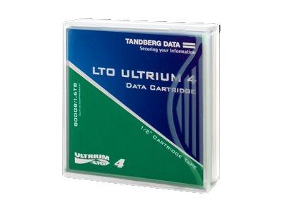 Overland Tandberg - LTO Ultrium 4 - 800 GB / 1.6 TB - für P/N: 2485-LTO, 2486-LTO, 3502-LTO-BUN, 3513-LTO-BUN, 3529-LTO, 7816-LT
