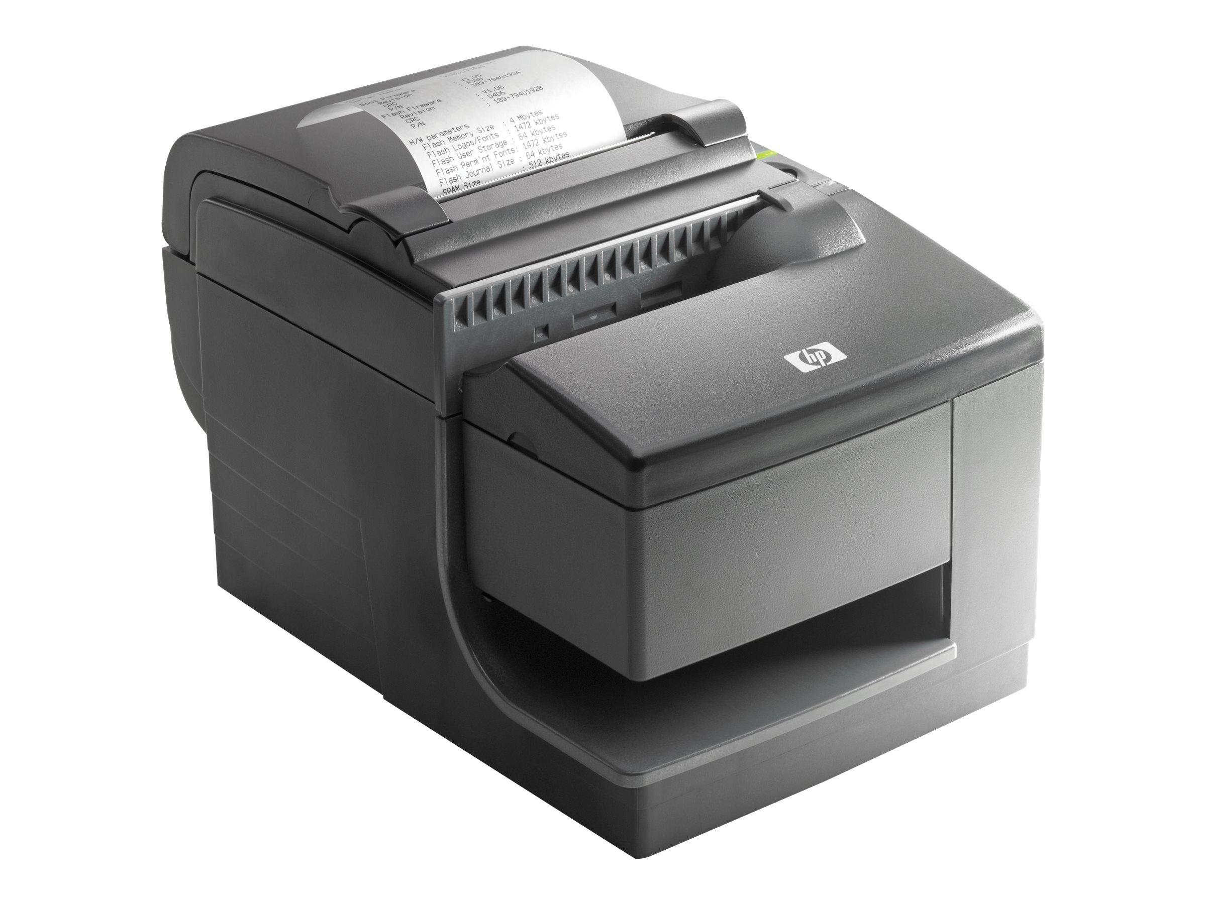 HP Hybrid Thermal Printer with MICR - Belegdrucker - zweifarbig (monochrom) - Thermodirekt - Rolle (0,8 cm) - 203 dpi