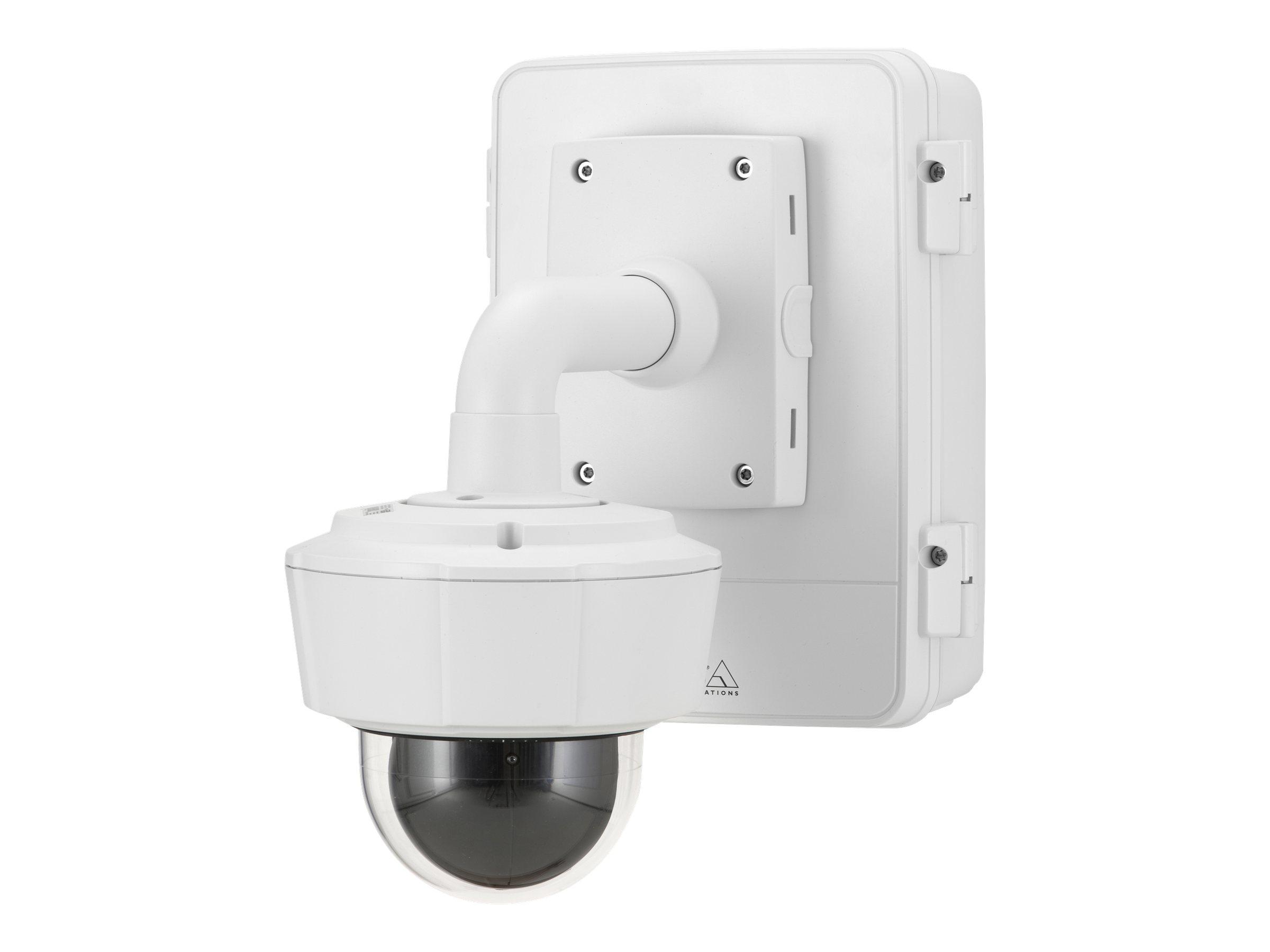 AXIS T98A18-VE Surveillance - Gehäuse - geeignet für Wandmontage - Innenbereich, Aussenbereich - weiss