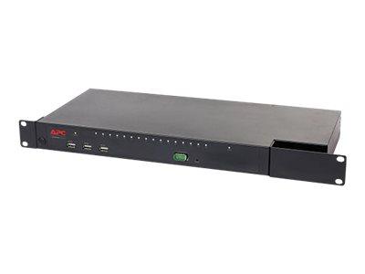 APC KVM1116R - KVM-Switch - 1 lokaler Benutzer - 1 IP-Benutzer - an Rack montierbar