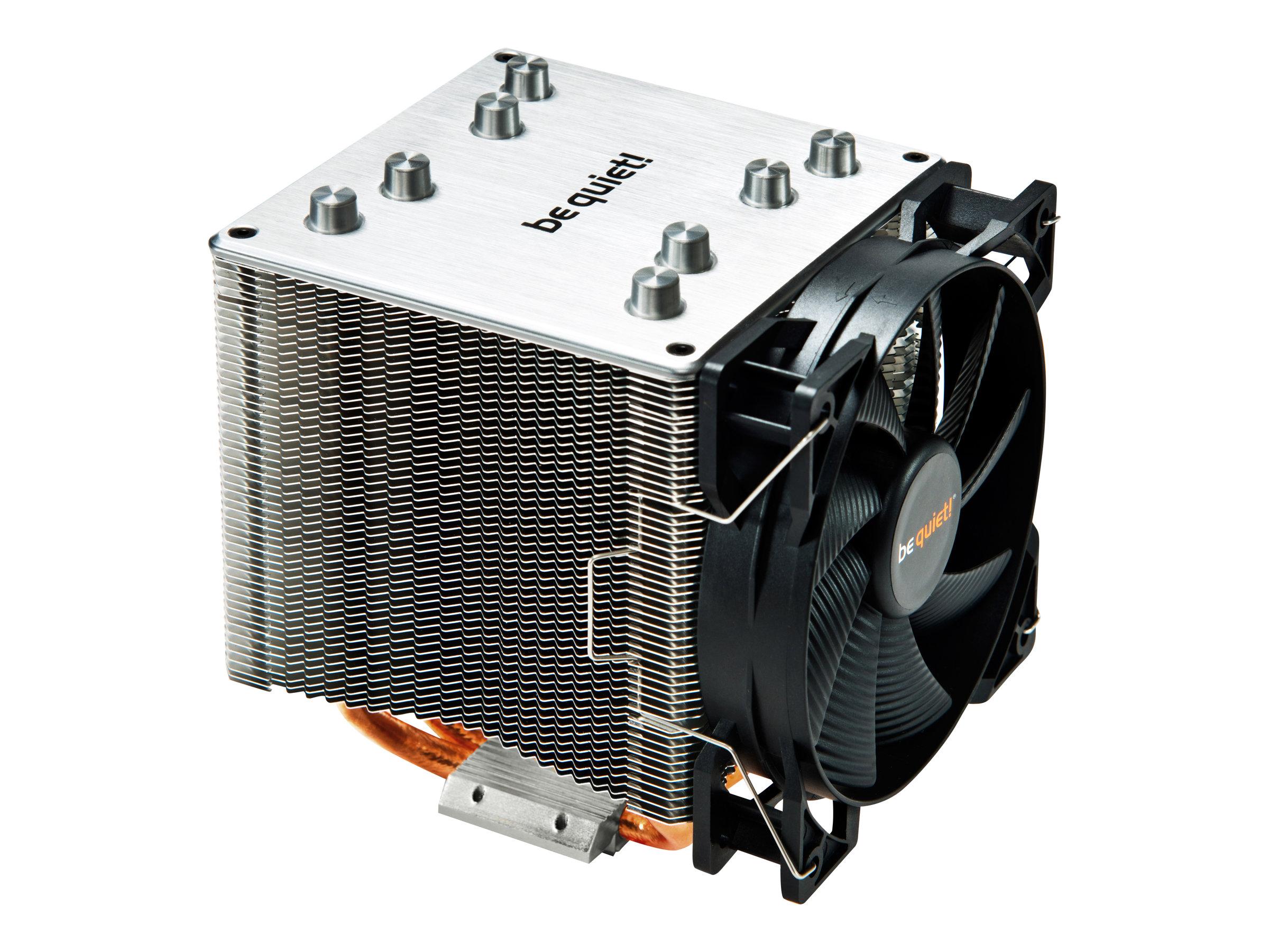 be quiet! SHADOW ROCK 2 - Prozessorkühler - (für: Socket 754, Socket 940, LGA775, Socket 939, LGA1156, AM2, AM2+, LGA1366, AM3,