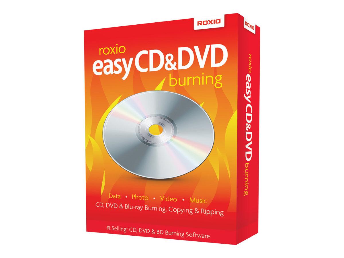 Roxio Easy CD & DVD Burning - Box-Pack - 1 Benutzer - CD - Win - Mehrsprachig