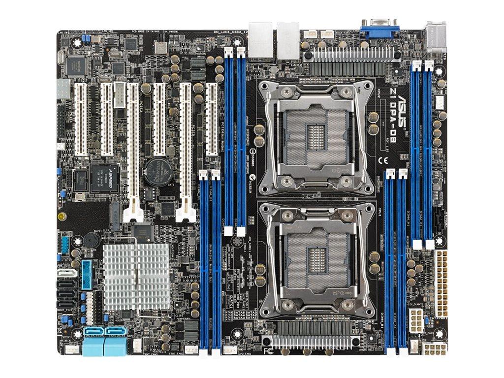 ASUS Z10PA-D8 - Motherboard - ATX - LGA2011-v3-Sockel - 2 Unterstützte CPUs - C612