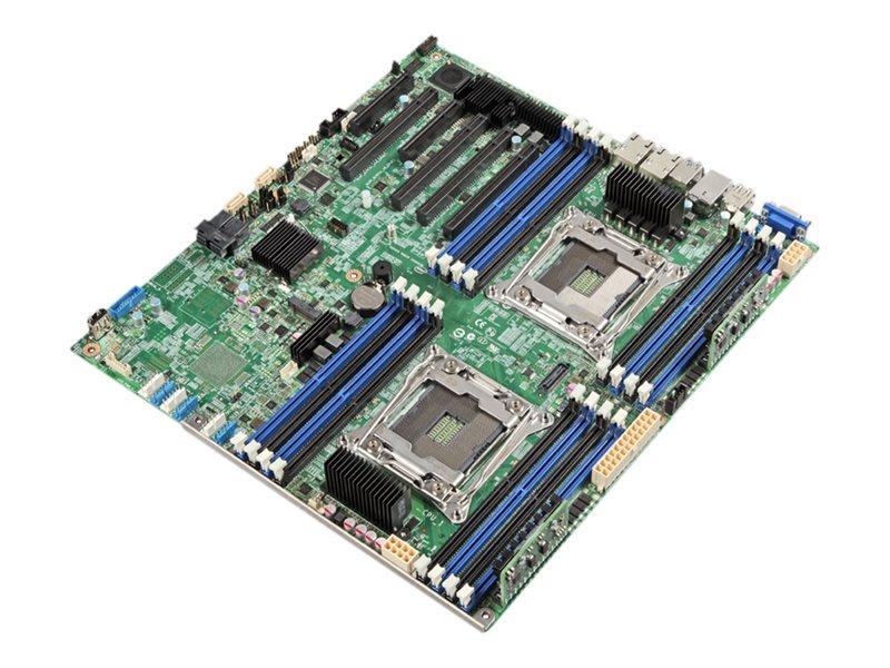 Intel Server Board S2600CW2R - Motherboard - SSI EEB - LGA2011-v3-Sockel - 2 Unterstützte CPUs - C612
