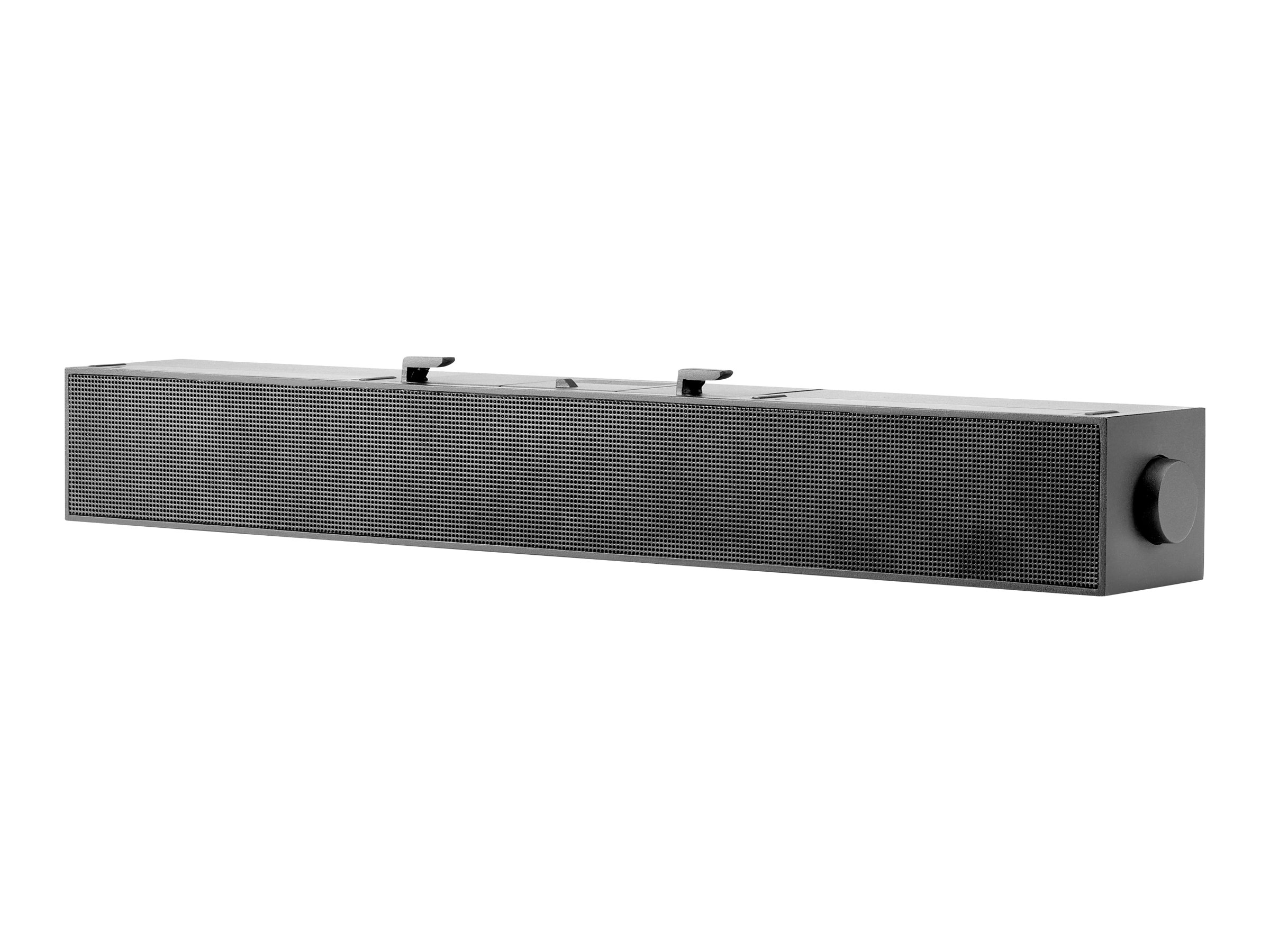 HP S100 - Soundleiste - for monitor - für HP Z22n G2, Z23n G2, Z24, Z24i G2, Z24n G2, Z24nf G2, Z27n G2; EliteDisplay E243, E273