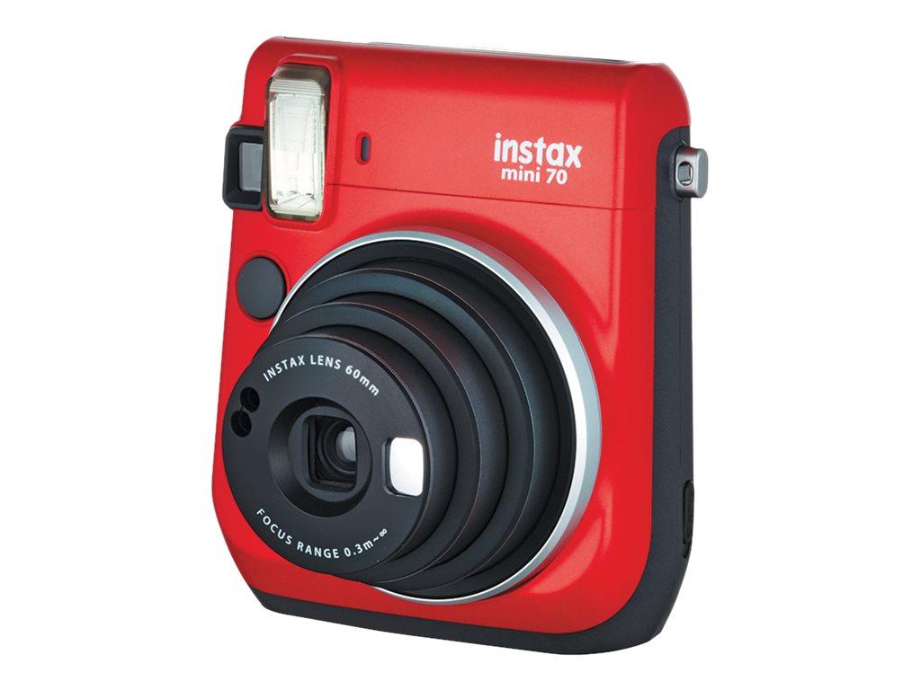 Fujifilm Instax Mini 70 - Instant Kamera - Objektiv: 60 mm Rot
