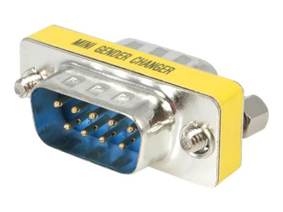 StarTech.com Seriell DB9 Gender Changer - St/St - Serieller Gender Changer - DB-9 (M) bis DB-9 (M)