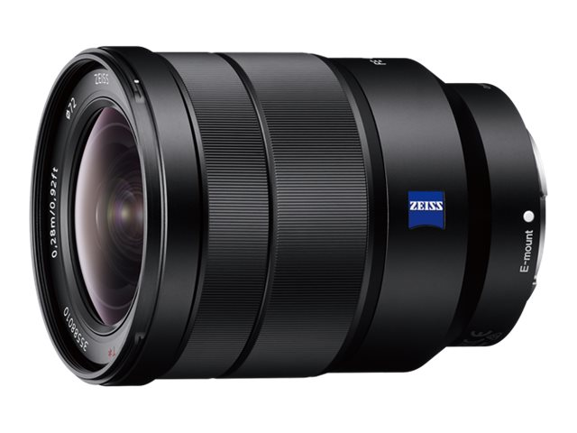 Sony SEL1635Z - Weitwinkel-Zoom-Objektiv - 16 mm - 35 mm - f/4.0 Vario-Tessar T* FE ZA OSS - Sony E-mount