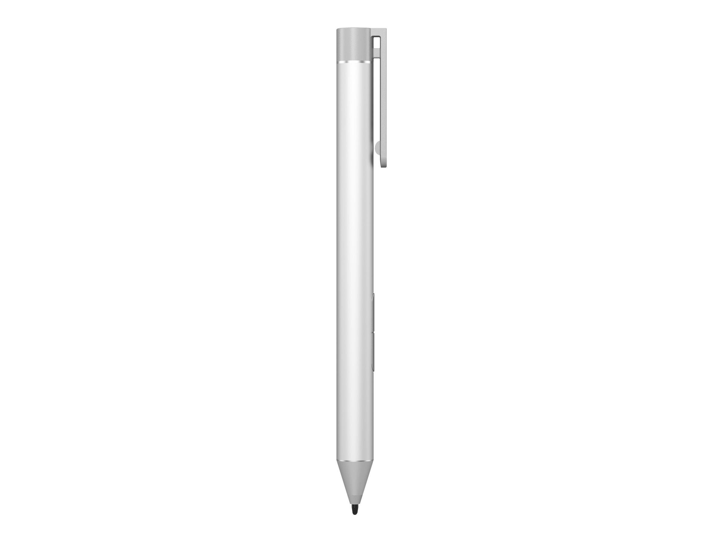 HP Active Pen - Digitaler Stift - 2 Tasten - Natural Silver - für HP 240 G6; Elite x2; EliteBook 1040 G4; EliteBook x360; Pro x2