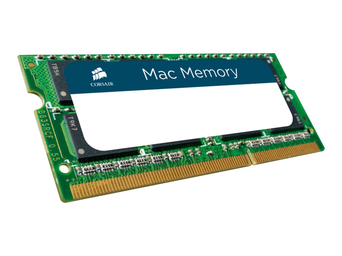 CORSAIR Mac Memory - DDR3 - 4 GB - SO DIMM 204-PIN - 1066 MHz / PC3-8500 - CL7