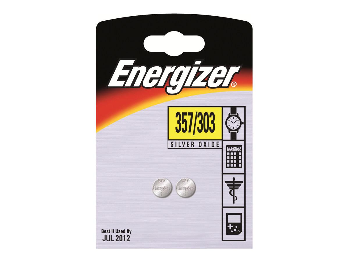 Energizer 357/303 - Batterie - Silberoxid