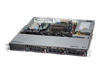 Supermicro SuperServer 5018D-MTLN4F - Server - Rack-Montage - 1U - 1-Weg - keine CPU