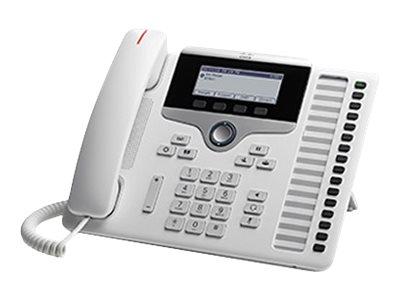 Cisco IP Phone 7861 - VoIP-Telefon - SIP, SRTP - 16 Zeilen - weiss