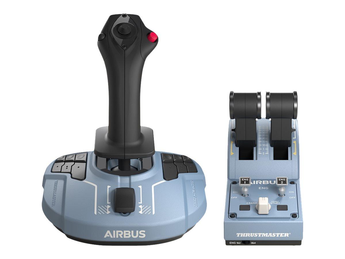 ThrustMaster TCA Officer Pack Airbus Edition - Joystick und Gasregler - kabelgebunden - für PC